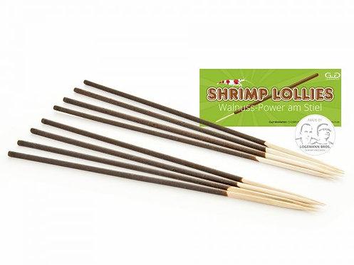 """Shrimp Lollies - Walnut Power """"GlasGarten"""" 1 stick"""