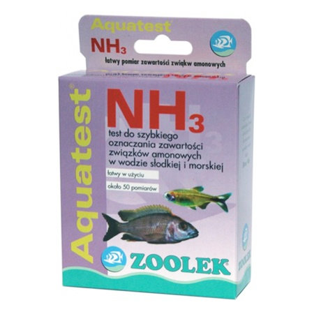 "Teste NH3 ""Zoolek"""