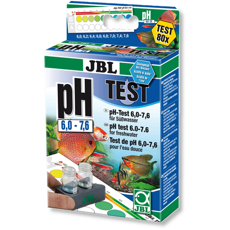 "Teste pH 6.0-7.6 ""JBL"""