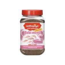 """Bebi menu """"Akvarius"""" (mini granules) 350g"""