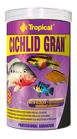 "Cichlid Gran ""Tropical"" 1000ml"