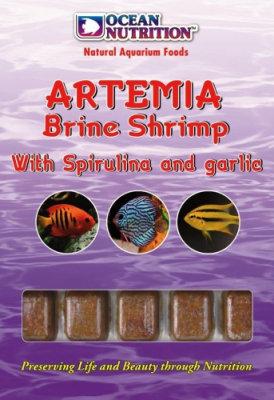 Artemia com Spirulina e Alho 100g
