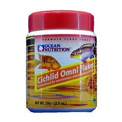 """Cichlid Omni Flakes """"Ocean Nutrition"""" 70g"""