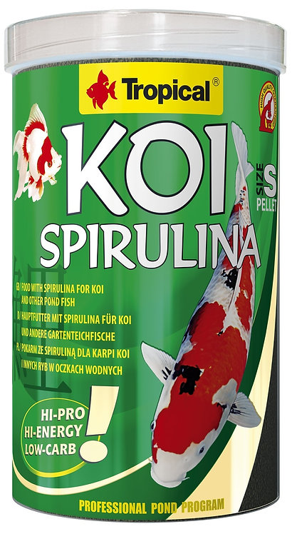 "Koi Spirulina ""Tropical"" 1000ml - Tamanho S"