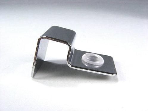 Suporte p/vidro inox 6mm (4und.)
