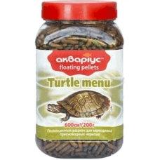 "Turtle menu ""Akvarius"" (sticks) 200g"