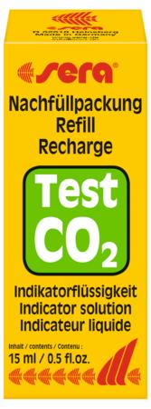 """Recarga p/teste CO2 """"Sera"""" 15ml"""