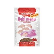 """Bebi menu """"Akvarius"""" (mini granules) 40g"""