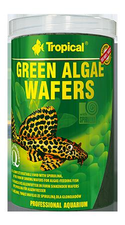 """Green Algae Wafers """"Tropical"""" 1000ml"""