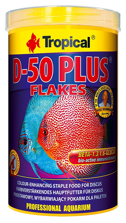 "D-50 Plus Flakes ""Tropical"" 250ml"
