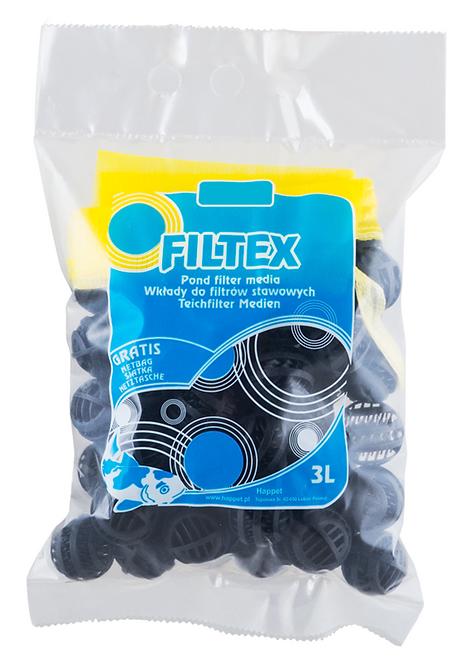 Filtex Bioball 3l tam.L + saco p/mat.filtrante