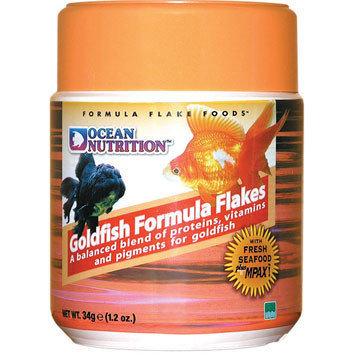 "Goldfish Formula Flakes ""Ocean Nutrition"" 34g"