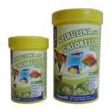 "Spirulina e chlorella flocos 100ml ""Aquili"""