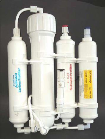Kit Osmose Inversa + Filtro NO3, PO4 e SiO2 Aquili