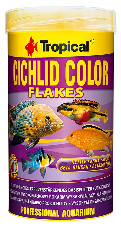 "Cichlid Color Flakes ""Tropical"" 250ml"