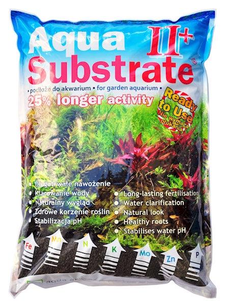 Aqua Substrate II+ 6L(5,4kg) Preto