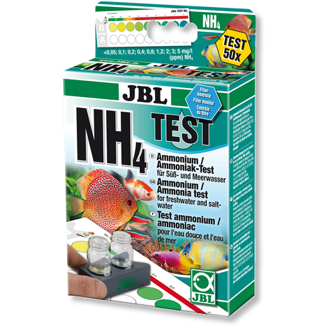 "Teste NH4 ""JBL"""