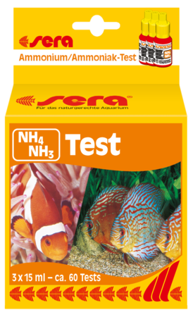 "Teste NH3/4 ""Sera"""
