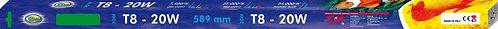 """T8-20W """"AQUA NOVA"""" 25.000ºK Blue Marine 589mm"""