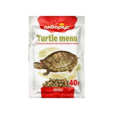 "Turtle menu ""Akvarius"" (sticks) 40g"