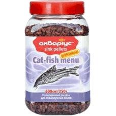"Cat-fish menu ""Akvarius"" (sink pellets) 350g"