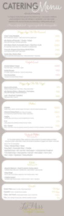 Lyndele Gauci lilmissperfect menu revise