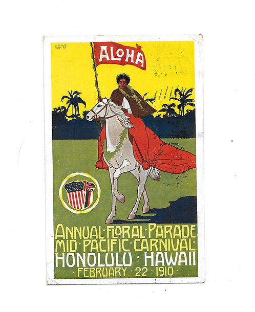 Annual Floral Parade 2/22/1910