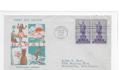 15-192 First Day Cover of U.S. #799