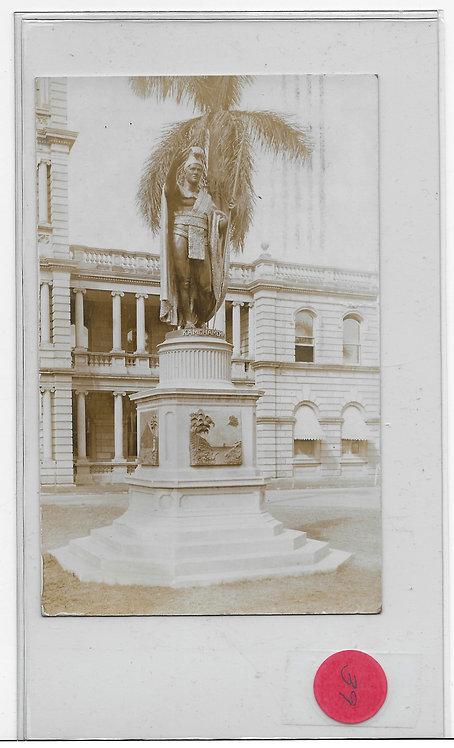 Statue of Kamehameha Photo Card