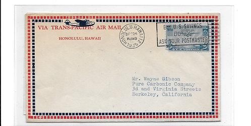 Trans-Pacific Air Mail