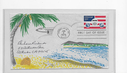 C90 First Day Cover, January 2, 1976