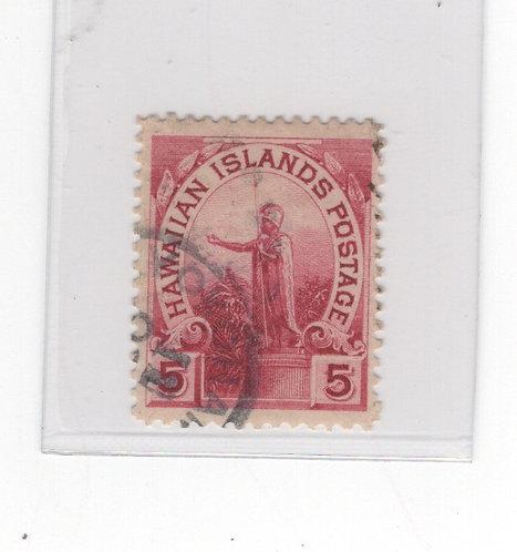 21-102  Rare Yokohama Postmark