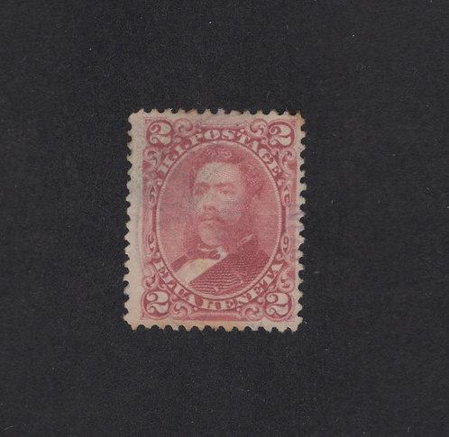 HIB237d  Hawaii #38 VF Example - Scarce Stamp