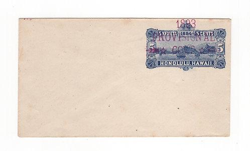 Bogus Provisional - 5¢ Blue