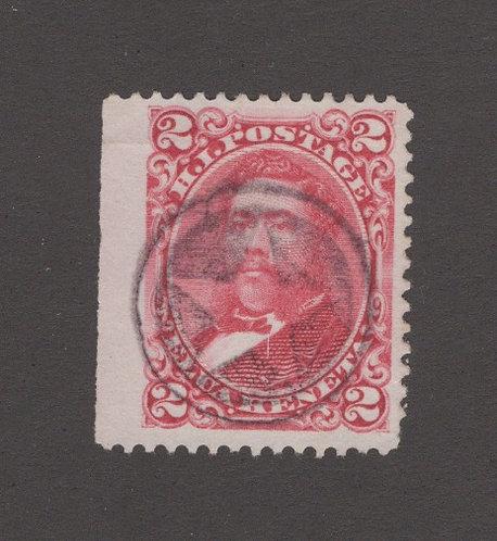 21-84 Koloa, Kauai Fancy Postmark