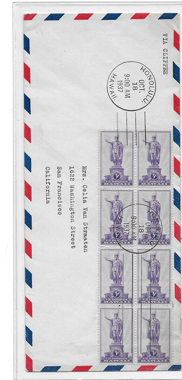 Clipper Air Mail First Day Cover