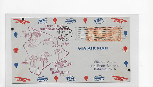 C19 First Flight Cover 10/8/1934