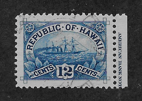 *16-19 Hawaii #78 Gem Used