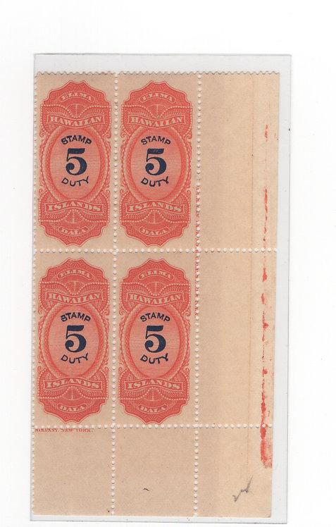 *19-34a HI #R15 NH Imprint Block
