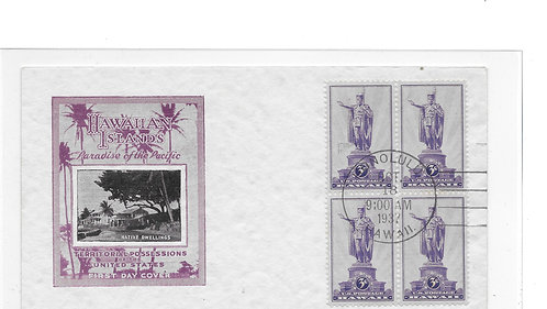 15-187 First Day Cover of U.S. #799