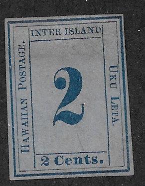20-11 Hawaii 2¢ Reprint