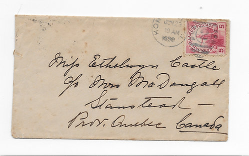 Cover to Canada