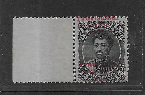 13-12a HI #62d Double Overprint