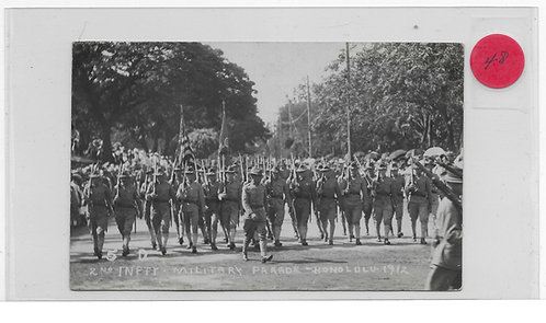 2nd Infantry Military Parade