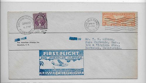 Pan Am China Clipper First Flight