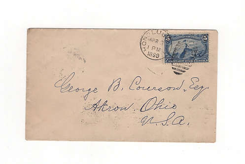 C315*  5¢ U.S. Trans-Miss Used
