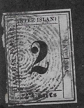 "20-12 Hawaii 2¢ Reprint ""Used"""