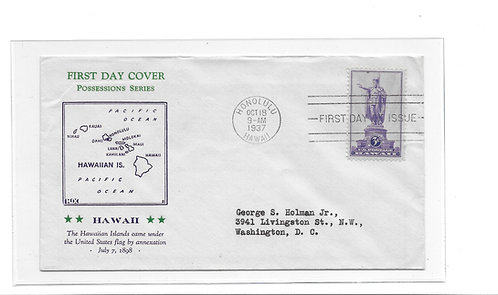 15-195 First Day Cover of U.S. #799