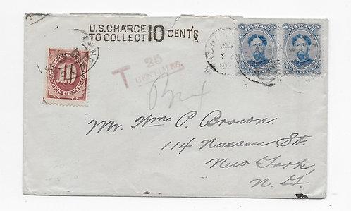 C160b* 1st Design U.S. Postage Due