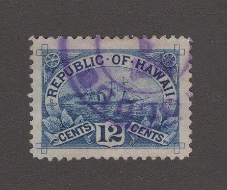 16-19b Hawaii #78 Superb Gem Used